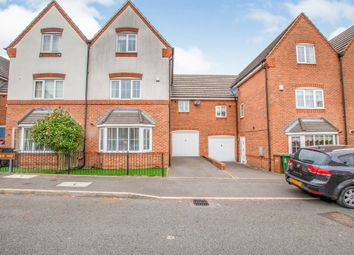 Thumbnail 4 bed town house for sale in Newhome Way, Walsall