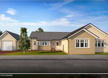 Thumbnail 4 bed bungalow for sale in Plot 15 Marlefield Grove, Tibbermore, Perthshire