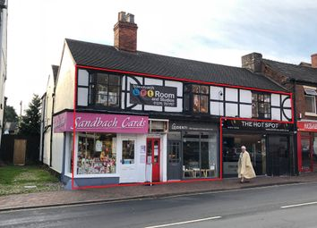 Thumbnail Commercial property for sale in 11-13 High Street, Sandbach, Cheshire