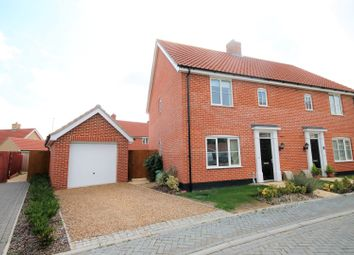 Thumbnail 3 bed terraced house to rent in Dudley Close, Watton