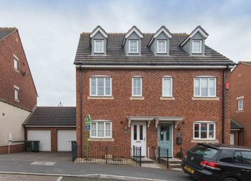 Thumbnail 3 bed semi-detached house to rent in Salterton Court, Exmouth