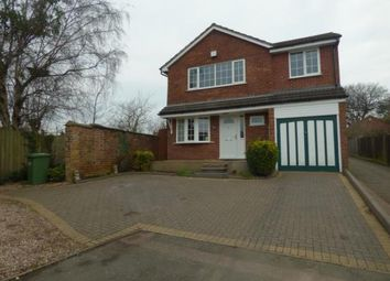 Thumbnail 4 bed detached house for sale in Windsor Close, Tamworth, Staffordshire