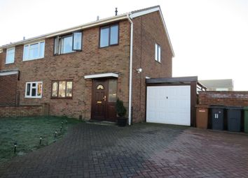 Thumbnail 3 bed semi-detached house for sale in Swallowdale Road, Melton Mowbray