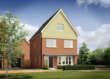 Thumbnail 4 bed detached house for sale in Zubron Grove, Whitehouse, Milton Keynes