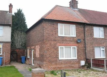 Thumbnail 2 bed end terrace house for sale in Church Street, Langold, Worksop, Nottinghamshire