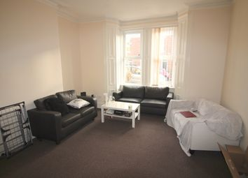 Thumbnail 4 bed terraced house to rent in Cadigan Terrace, Newcastle Upon Tyne