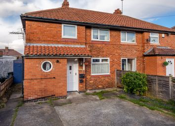 Thumbnail 3 bed semi-detached house for sale in Caxton Avenue, York