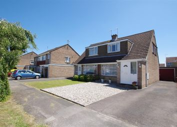 Thumbnail 2 bed semi-detached house for sale in Shapwick Close, Nythe, Swindon