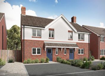 Thumbnail 3 bed semi-detached house for sale in Sweetlake Meadow, Longden Road, Shrewsbury