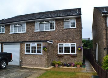 Thumbnail 3 bed semi-detached house for sale in Jubilee Close, Pamber Heath, Tadley