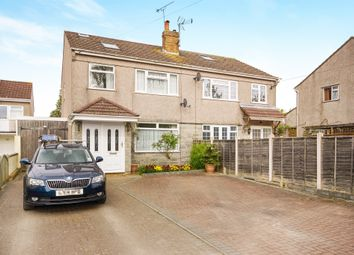 Thumbnail 4 bed semi-detached house for sale in Woodside Road, Coalpit Heath, Bristol