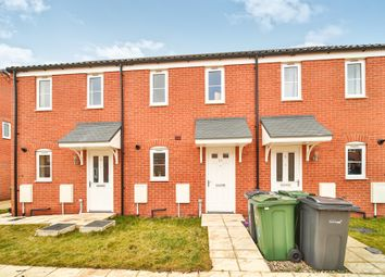 Thumbnail 2 bed terraced house for sale in Bartram Close, Wymondham