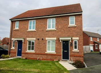 Thumbnail 3 bed semi-detached house to rent in Ebony Court, Ewloe, Deeside