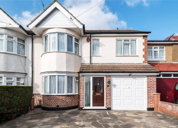 Thumbnail 4 bedroom end terrace house for sale in Brixham Crescent, Ruislip Manor, Middlesex