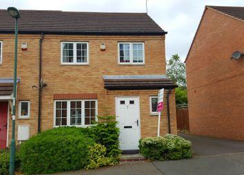 Thumbnail 3 bedroom end terrace house for sale in Millidge Close, Nottingham