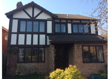 Thumbnail 4 bed detached house for sale in Sevenoaks Drive, Bournemouth