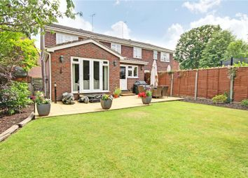 Thumbnail 4 bed semi-detached house for sale in Parklands, Addlestone, Surrey