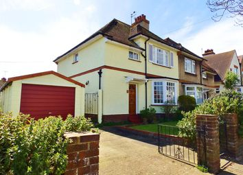 Thumbnail 3 bed semi-detached house for sale in Central Avenue, Eastbourne
