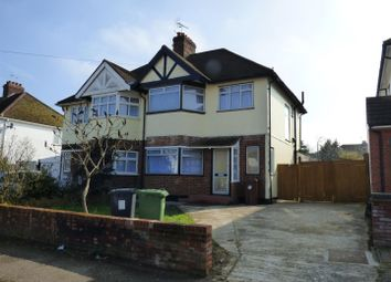Thumbnail 3 bedroom semi-detached house for sale in Melrose Avenue, Borehamwood