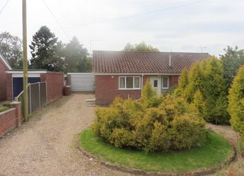 Thumbnail 3 bed detached bungalow for sale in Wells Road, Hindringham