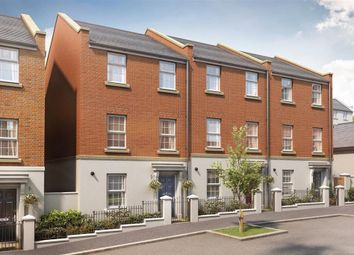 """Thumbnail 3 bed end terrace house for sale in """"Plot 217 - The Charlbury - Parcel M"""" at Hercules Road, Sherford, Plymouth"""