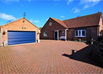 Thumbnail 3 bed detached bungalow for sale in Stow Road, Sturton By Stow, Lincoln