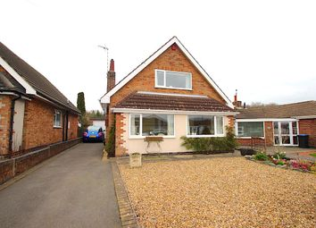 Thumbnail 3 bed detached bungalow for sale in Fern Crescent, Groby, Leicester