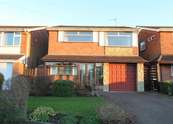 Thumbnail 4 bedroom detached house for sale in Calver Crescent, Sapcote, Leicester