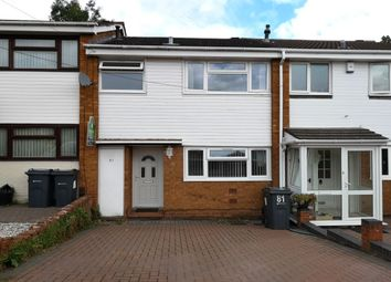 Thumbnail 3 bed terraced house for sale in Westacre Gardens, Stechford, Birmingham