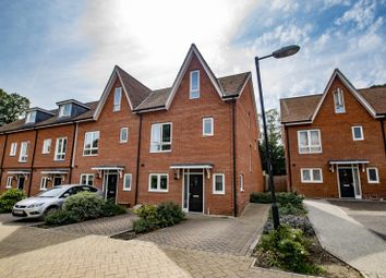 Thumbnail 4 bed end terrace house to rent in Newlands Way, Cholsey, Wallingford