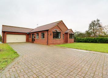 Thumbnail 4 bed detached bungalow for sale in Main Street, Althorpe, Scunthorpe