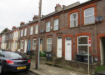 Thumbnail 2 bedroom terraced house for sale in Curzon Road, Luton
