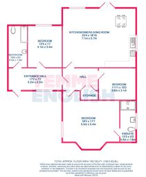 Thumbnail 3 bed bungalow for sale in Colchester Road, Great Bentley, Colchester