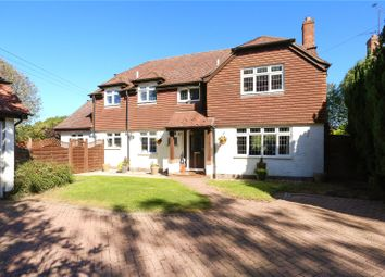 Thumbnail 4 bedroom detached house for sale in Lees Hill, South Warnborough, Hook, Hampshire