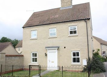 Thumbnail 3 bed semi-detached house to rent in Woodlands, Huntingdon