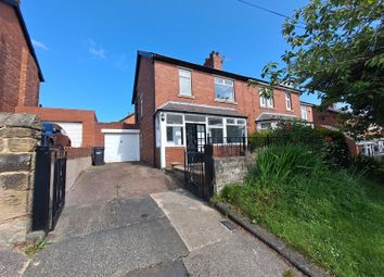 Thumbnail 3 bed semi-detached house for sale in Hartford Road East, Bedlington