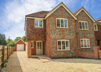 Thumbnail 4 bed semi-detached house for sale in Marlow Road, Lane End, High Wycombe