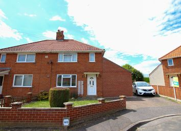 Thumbnail 3 bed semi-detached house for sale in Leman Close, Loddon, Norwich
