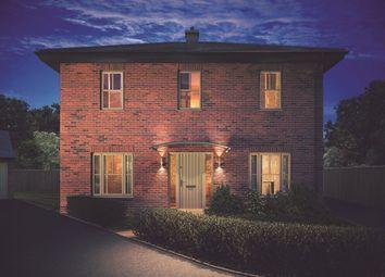 Thumbnail 4 bed detached house for sale in Copenhagen High Street, Linton, Swadlincote