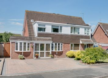 Thumbnail 3 bed semi-detached house for sale in Fulton Close, Aston Fields, Bromsgrove
