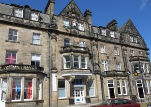 Thumbnail 1 bed flat to rent in Wellington House, Harrogate