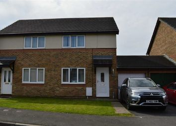 Thumbnail 2 bed semi-detached house for sale in Templeton Way, Swansea