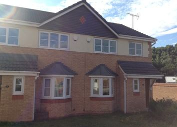 Thumbnail 3 bed semi-detached house to rent in Tudor Court, Rhostyllen, Wrexham