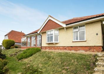 Thumbnail 4 bed detached bungalow for sale in Hillside, Sheringham