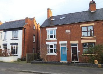 Thumbnail 4 bed terraced house for sale in Ashby Road, Donisthorpe, Swadlincote