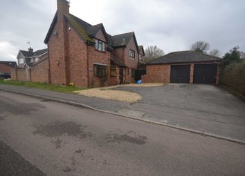 Thumbnail 5 bed detached house to rent in Bradmore Way, Lower Earley, Reading