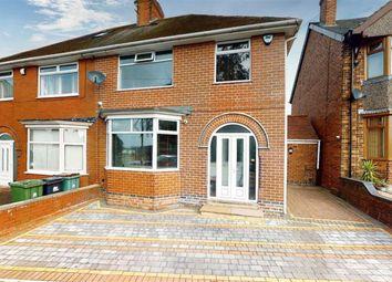 Thumbnail 3 bed semi-detached house for sale in Grange Street, Alfreton