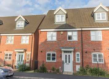 Thumbnail 4 bedroom end terrace house for sale in Old Church Road, Enderby