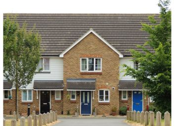 Thumbnail 2 bed terraced house for sale in Summerson Close, Rochester