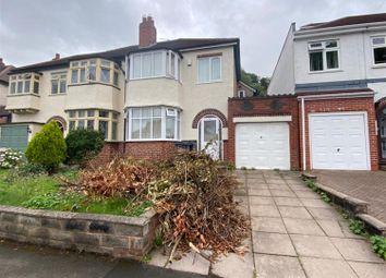 Thumbnail 3 bed semi-detached house to rent in Bonsall Road, Erdington, Birmingham